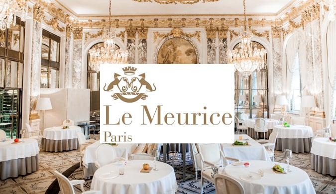 Το όνειρο που είχε τη διάρκεια ενός γεύματος στο «Le Meurice Alain Ducasse»