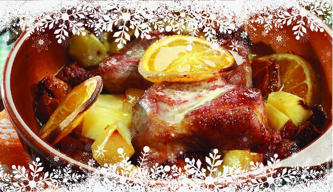 Το χριστουγεννιάτικο χοιρινό