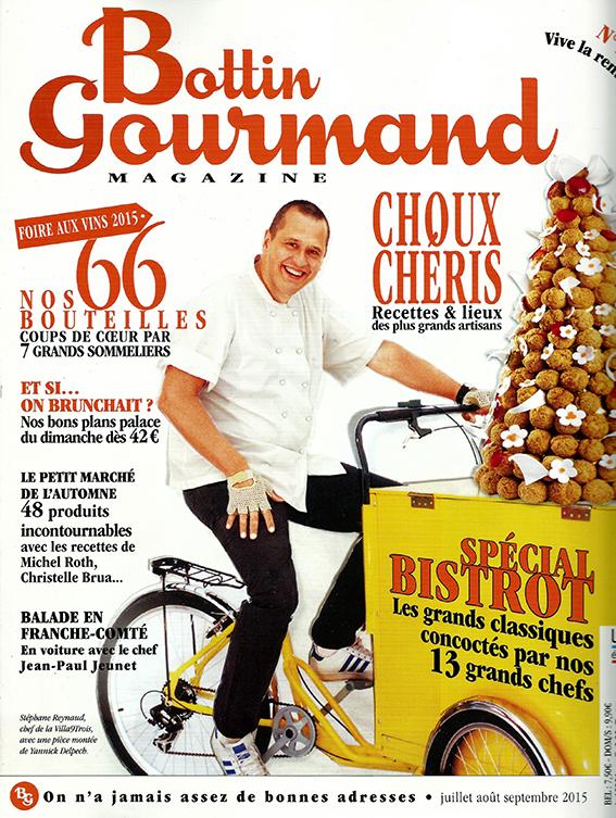 Bottin Gourmand | Ιούλιος/Αύγουστος/Σεπτέμβριος 2015