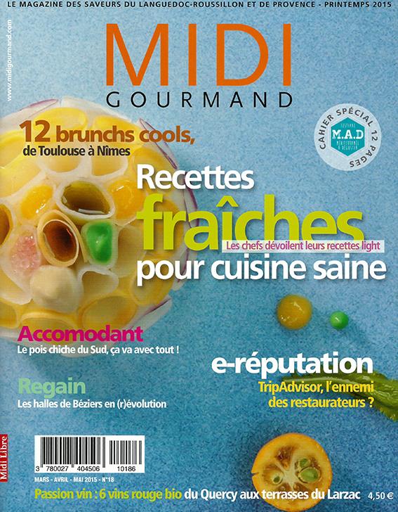 Midi Gourmand | Απρίλιος/Μάϊος/Ιούνιος 2015