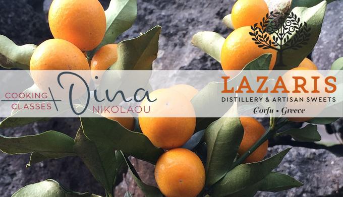 19 Απριλίου: Δημιουργικές συνταγές με άρωμα κουμκουάτ της Lazaris Distillery & Artisan Sweets