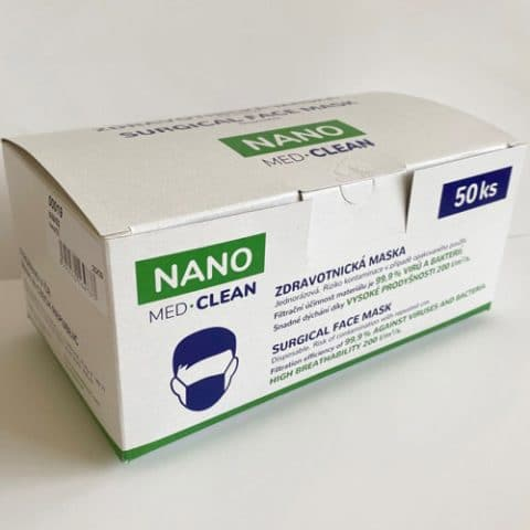 Nano. Med Clean 50-pack