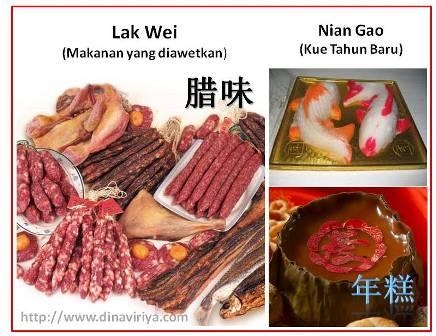 makanan tradisi tahun baru chinese