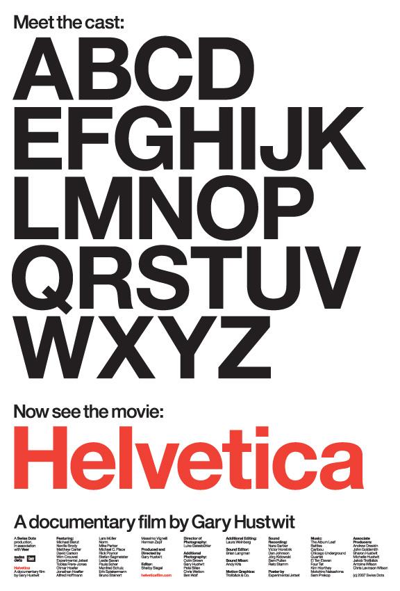 helvetica-documentary-poster