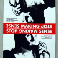 Talking Heads | Stop Making Sense Poster