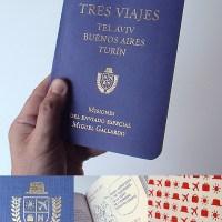 Enric Jardi: Passport Parody Sketchbook