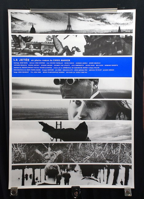 original la jetee poster chris marker (japanese version)