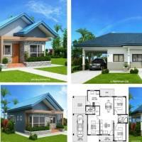 Doua proiecte de case mici doar cu parter ce te vor cuceri instant