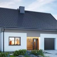 Proiect casa mica cu mansarda si garaj. Locuinta de vis la pret de criza