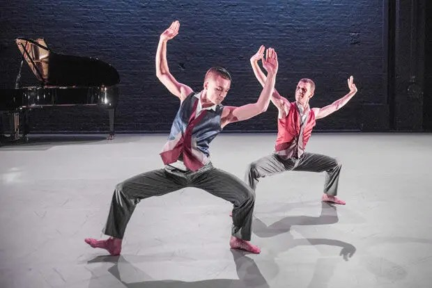 """Richard Alston Dance Company """"Alston At Home"""" The Place."""