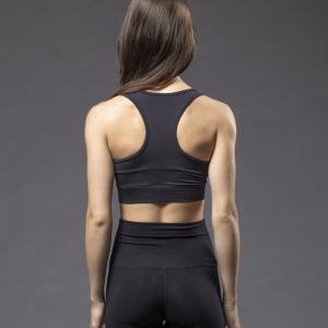 Dincwear Dancewear Black Pro Sports Bra