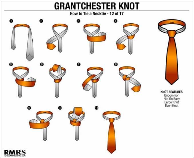 tutorial cara memakai dasi grantchester knot simpel mudah praktis termudah untuk pemula