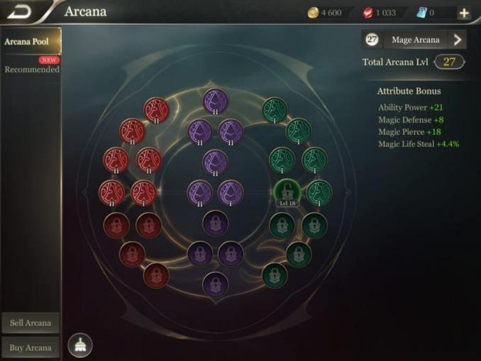 arcana game garena arena of valor