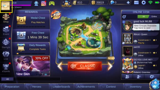 cara menghapus akun mobile legend level max cewek cantik bendera jepang