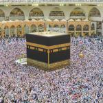 kakbah di mekkah. masjidil haram