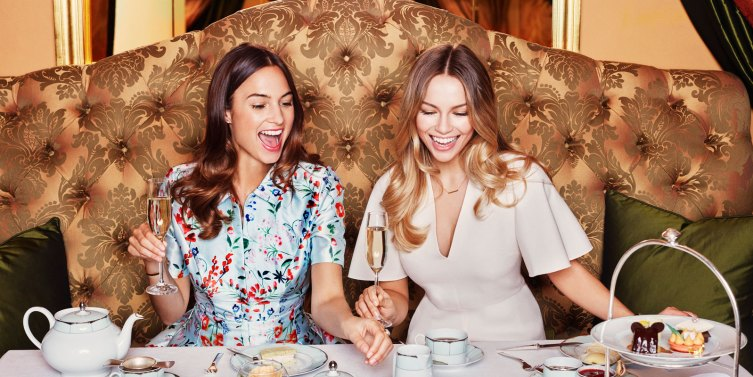afternoon tea at The Promenade at The Dorchester