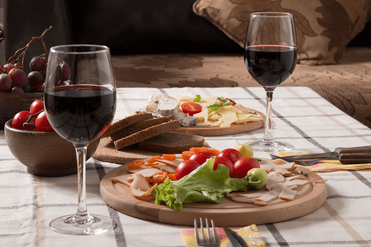 When Matching Food With Wine Look For Complimentary Flavour Profiles