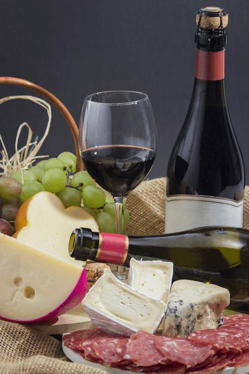 wine cheese matching