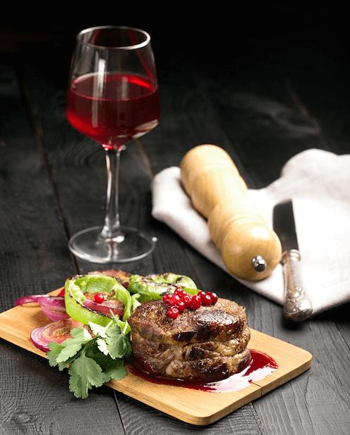 best wine to drink with steak