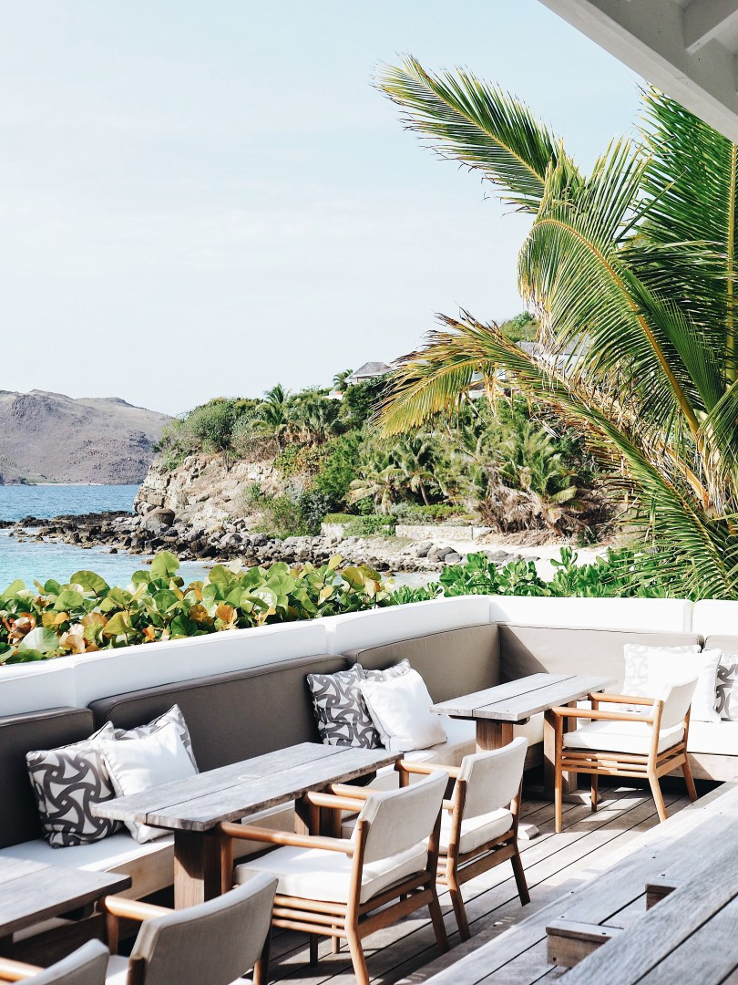 Lounge at Cheval Blanc St. Barth