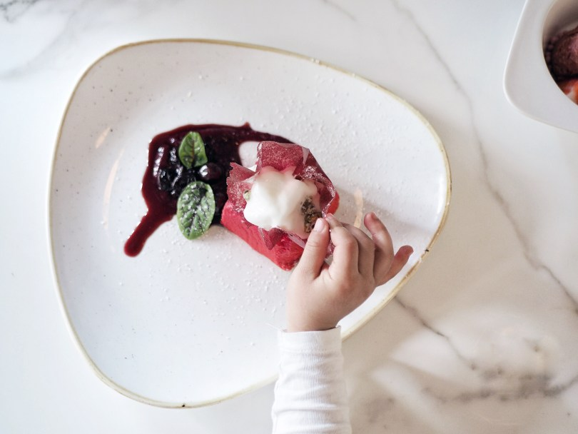 Pistacchio & White Chocolate Gift Box Dessert at Ricarda's Toronto