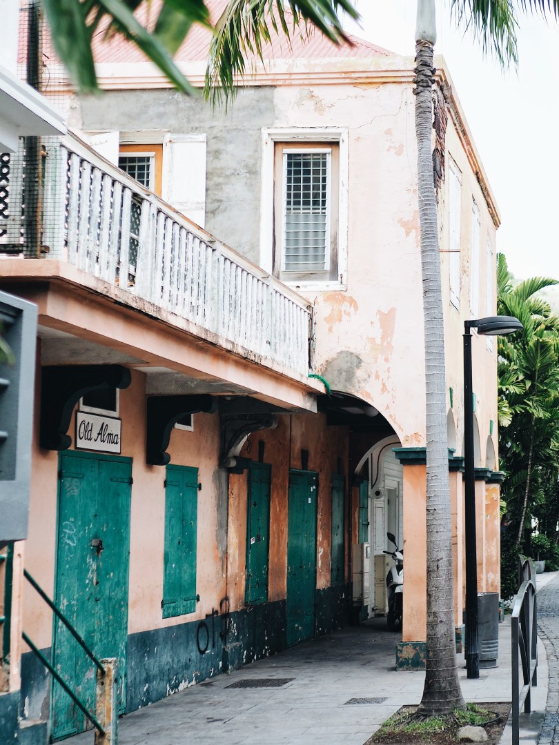 Beautiful architecture in Gustavia, St. Barth