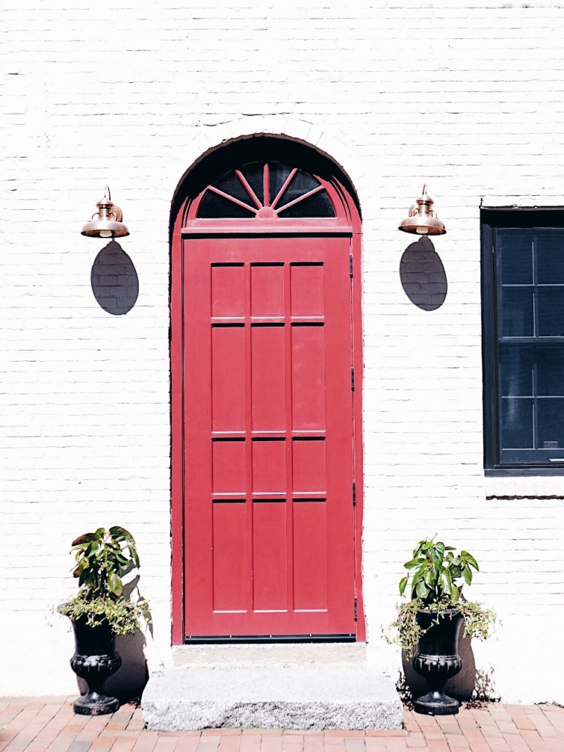 More pretty doorways in Portsmouth New Hampshire