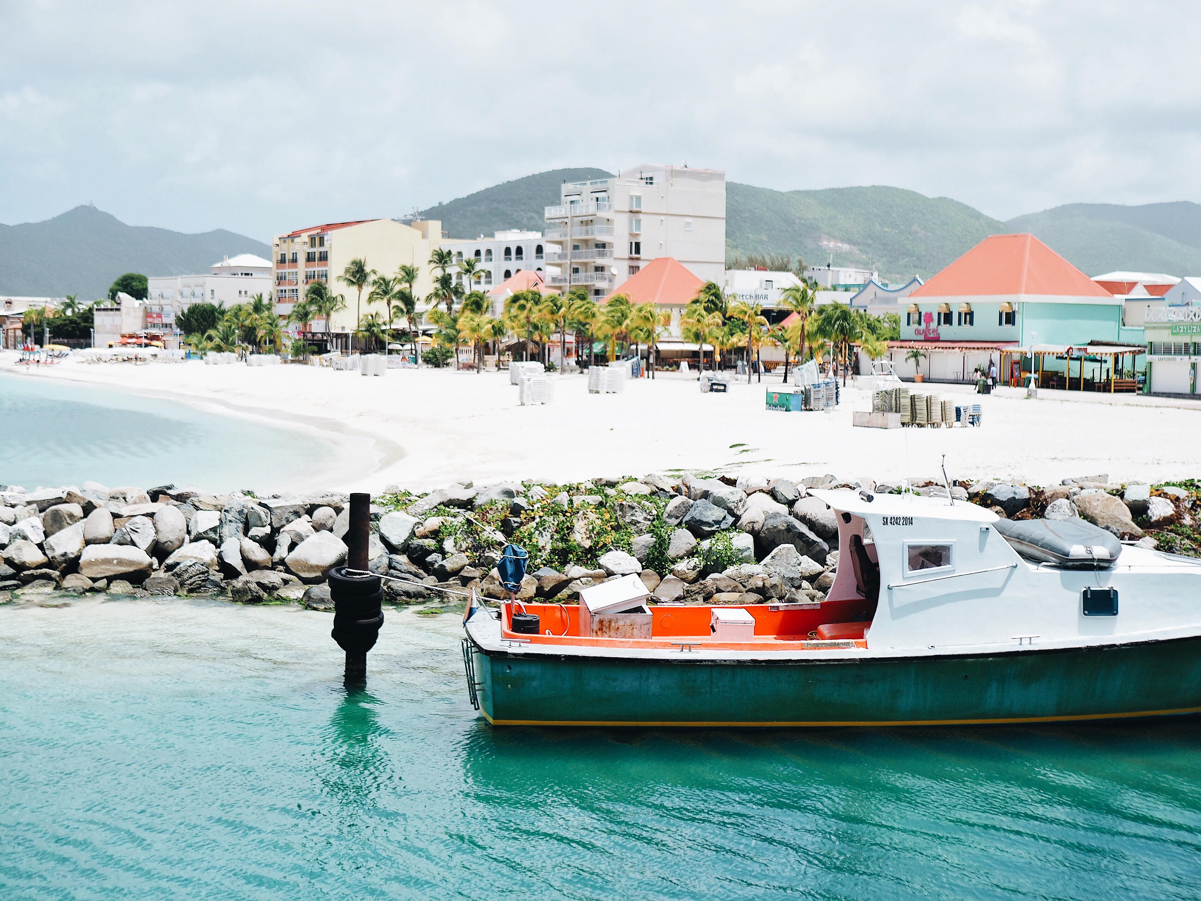 St. Maarten ferry dock