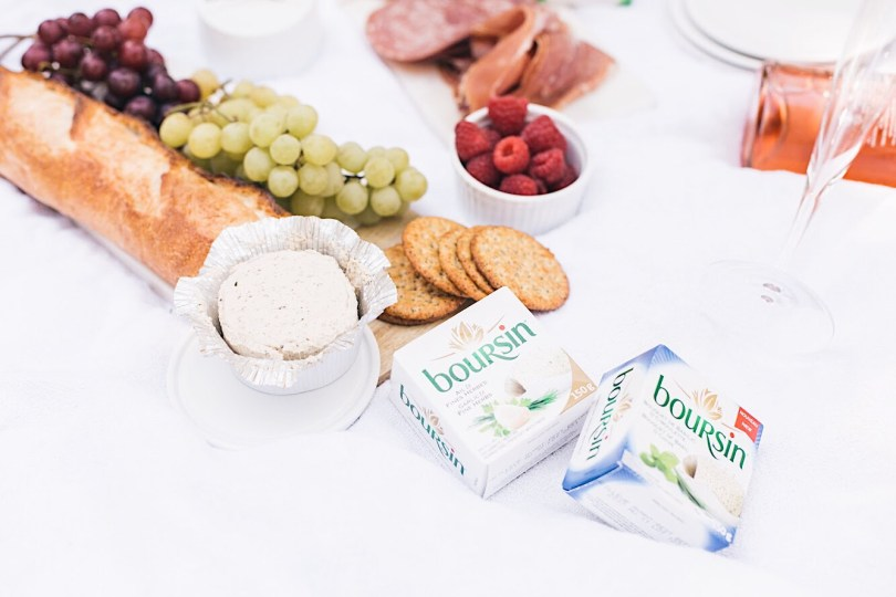Delicious spread including Boursin cheese