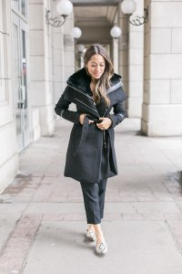 Gabriella wrap coat from Ever New