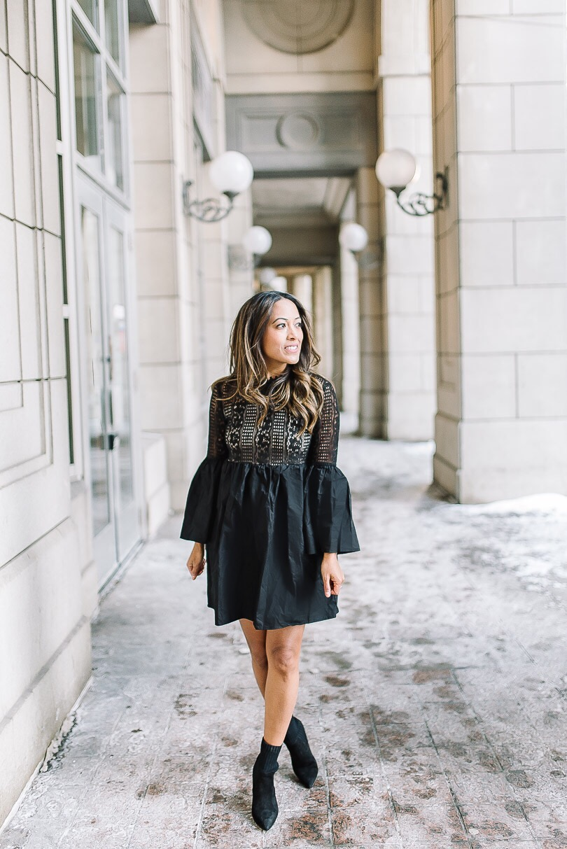 Endless rose LBD from Shopbop