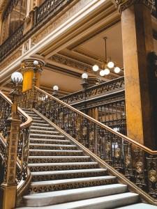 Inside Palacio Postal