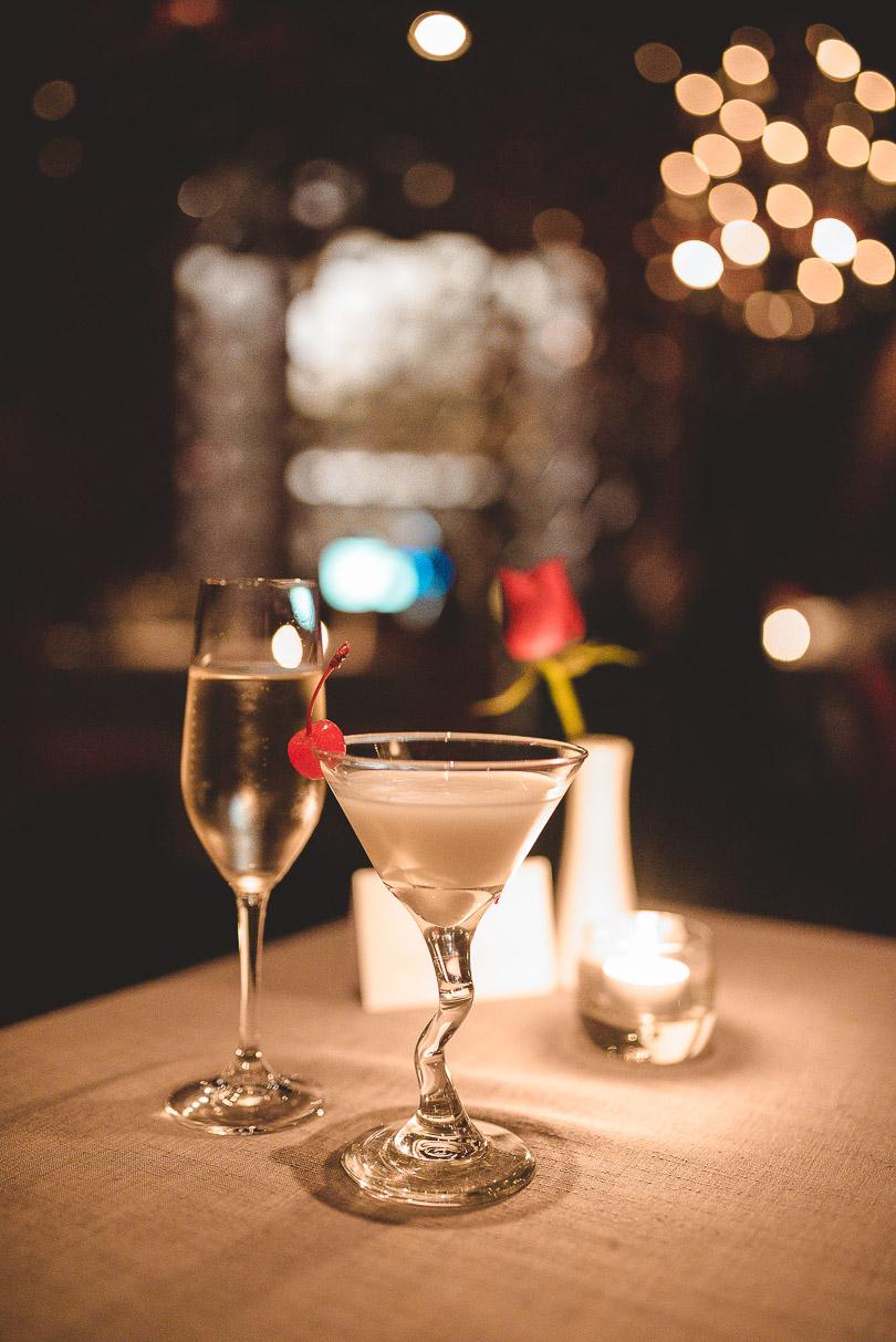 Cocktails at Lucca (Italian restaurant)
