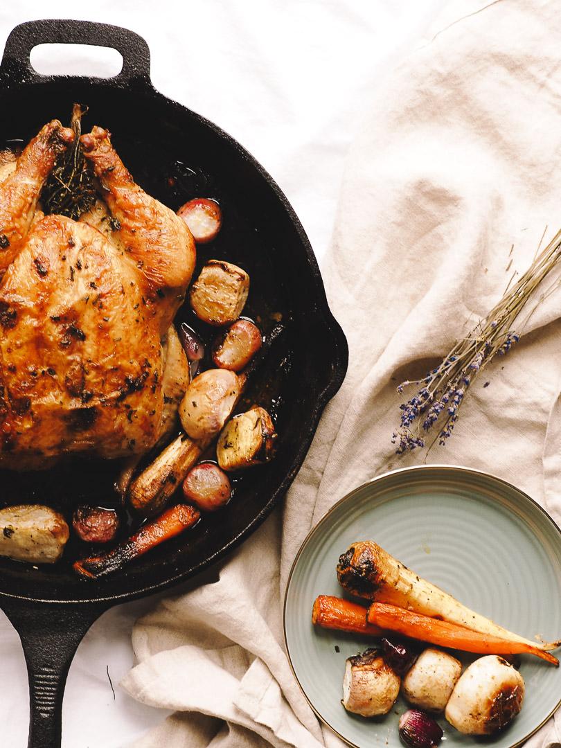 Make the perfect roast chicken