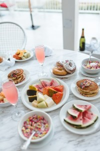 Our breakfast spread at Royal Decameron Cornwall Beach