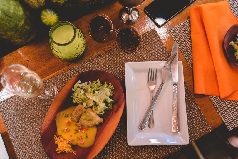 Our farm to table experience at Zimbali Retreat