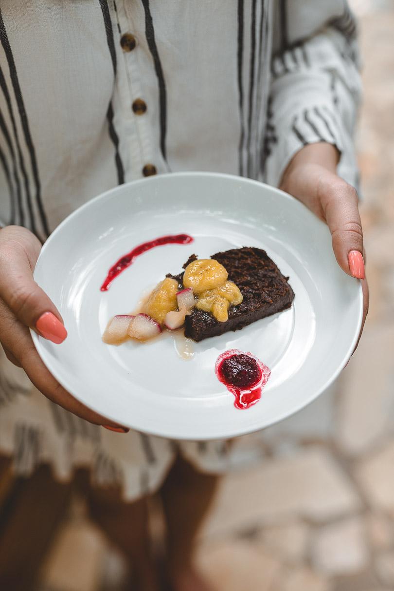 Dessert at Zimbali Retreat