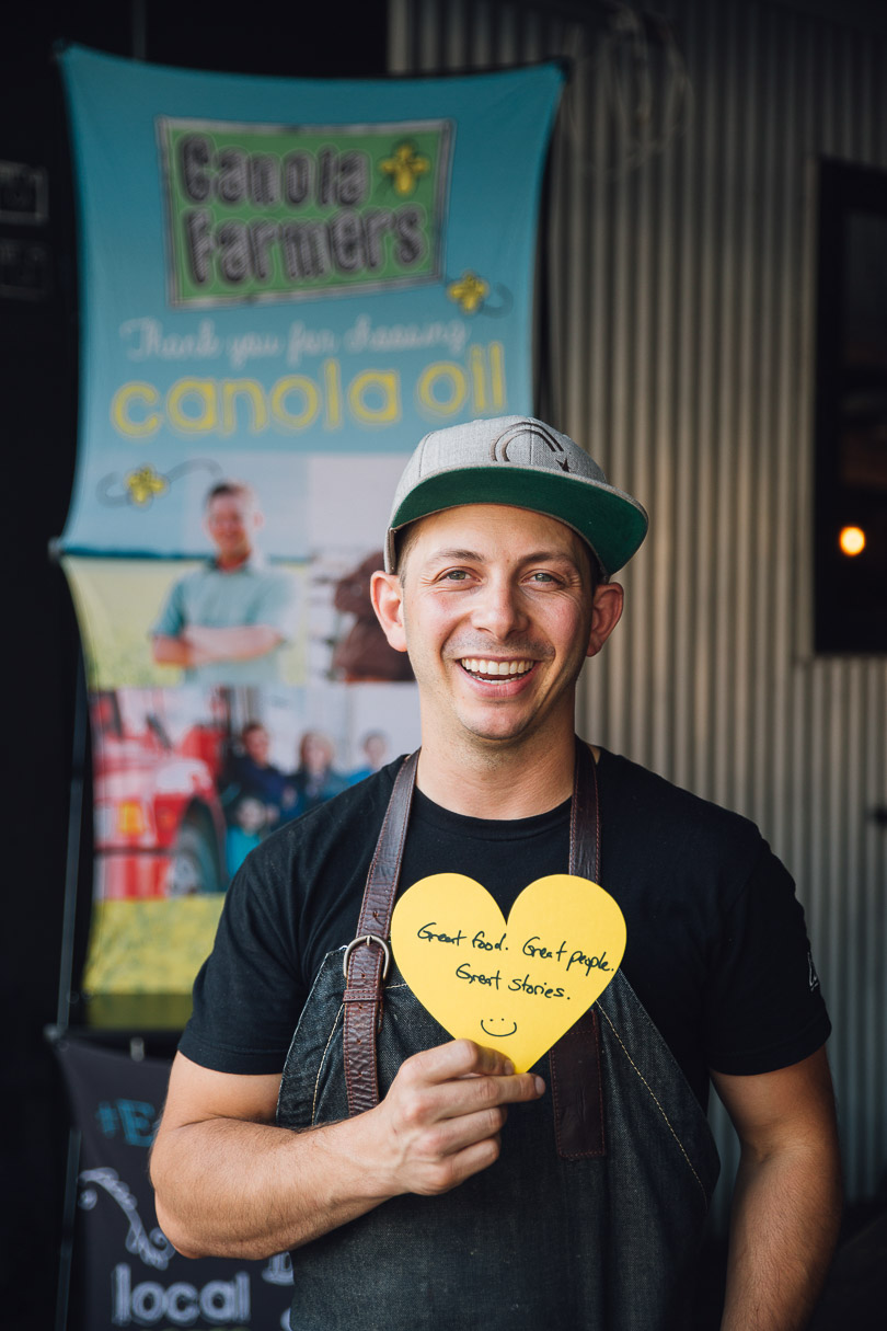 Chef Matt Basile of Lisa Marie in Toronto