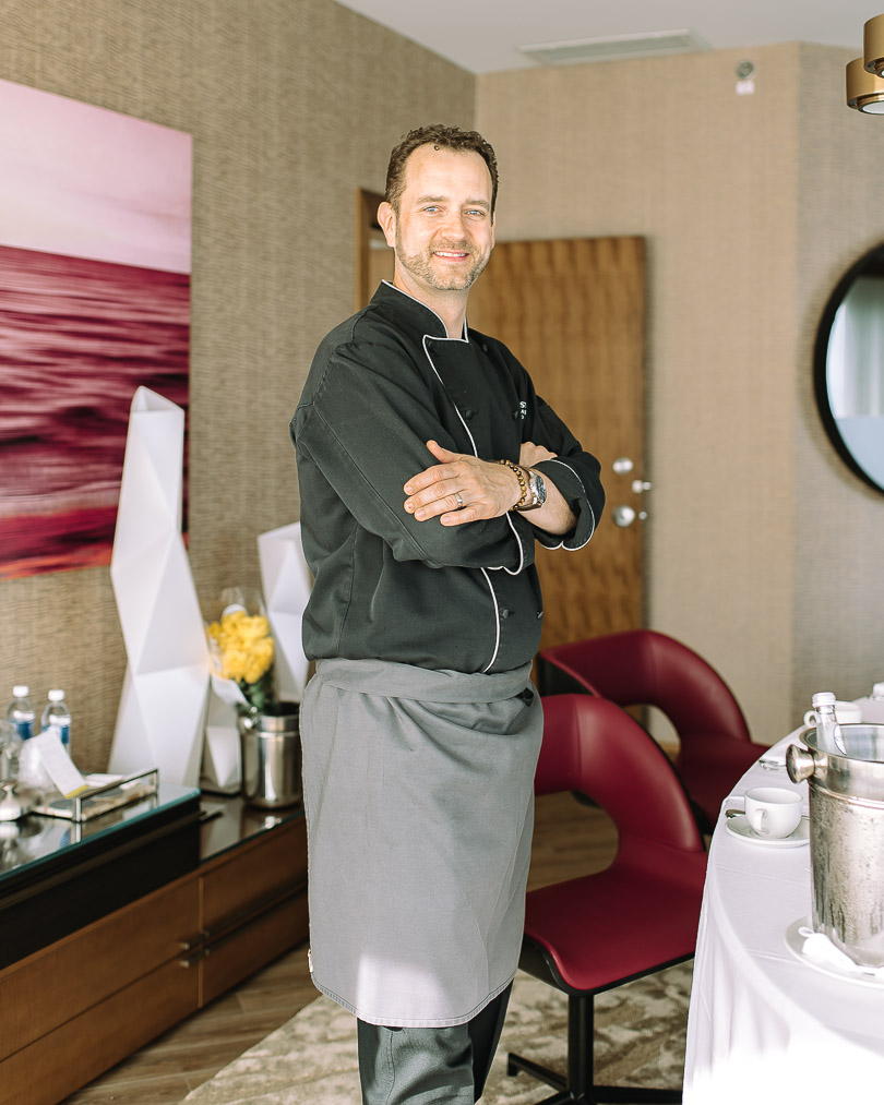 Chef Corbin Tomaszeski