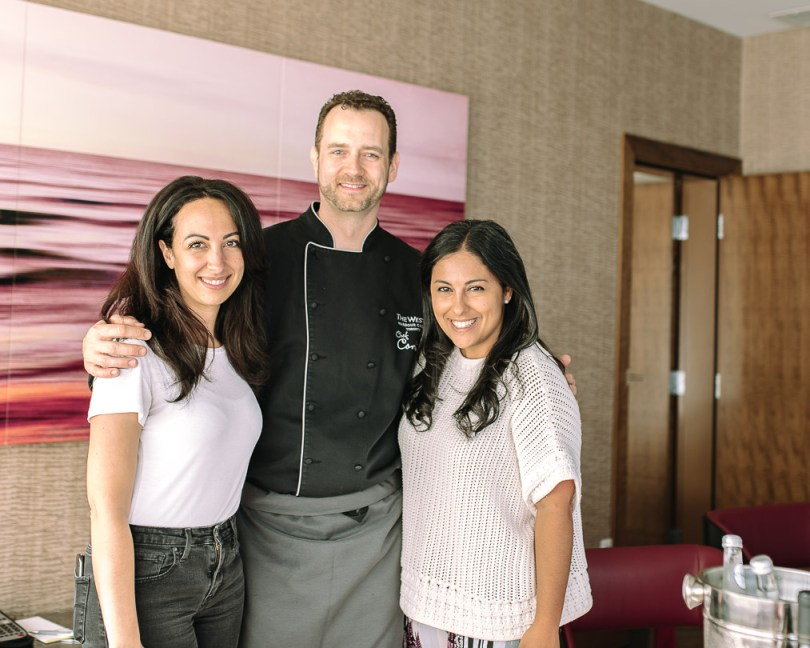 with Chef Corbin at The Westin Harbour Castle