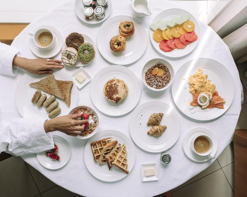 Breakfast at Fairmont Dubai