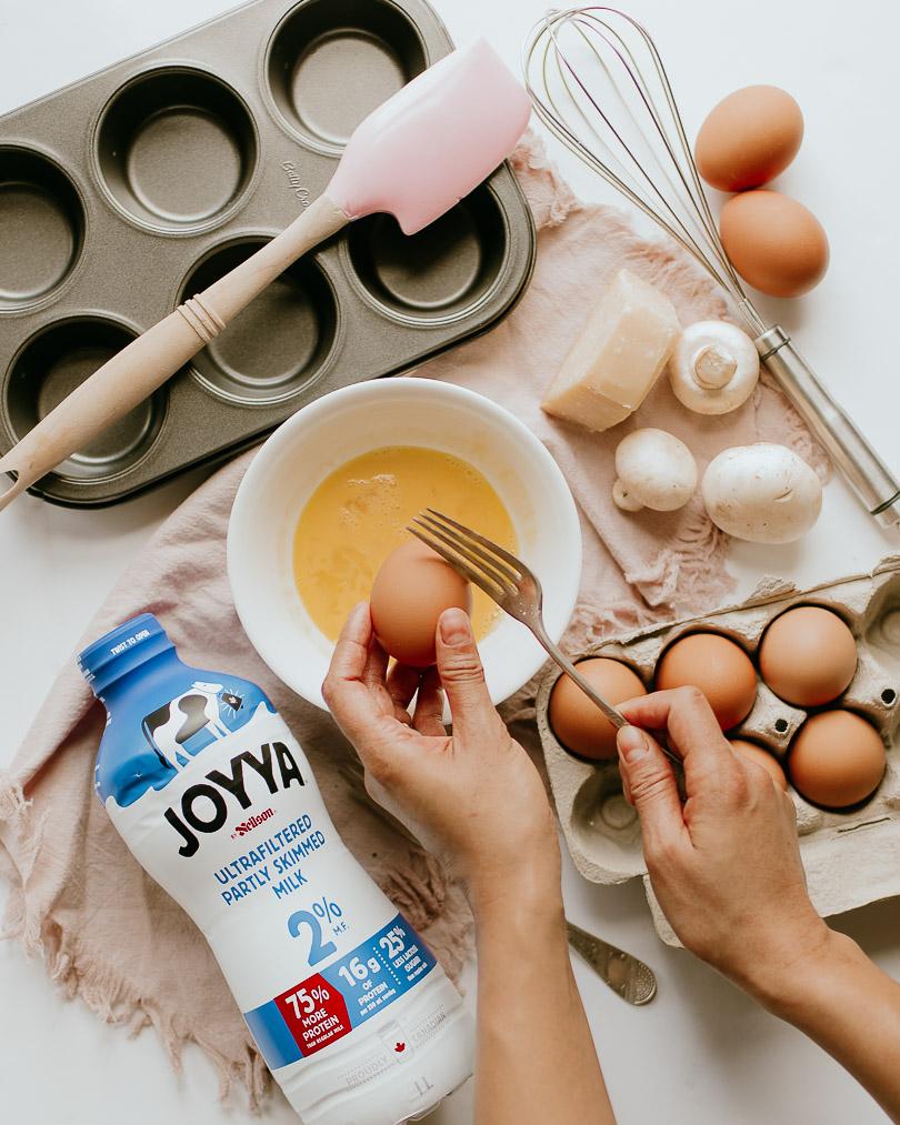 Breakfast egg cup recipe