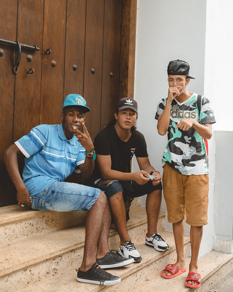 street rappers of cartagena