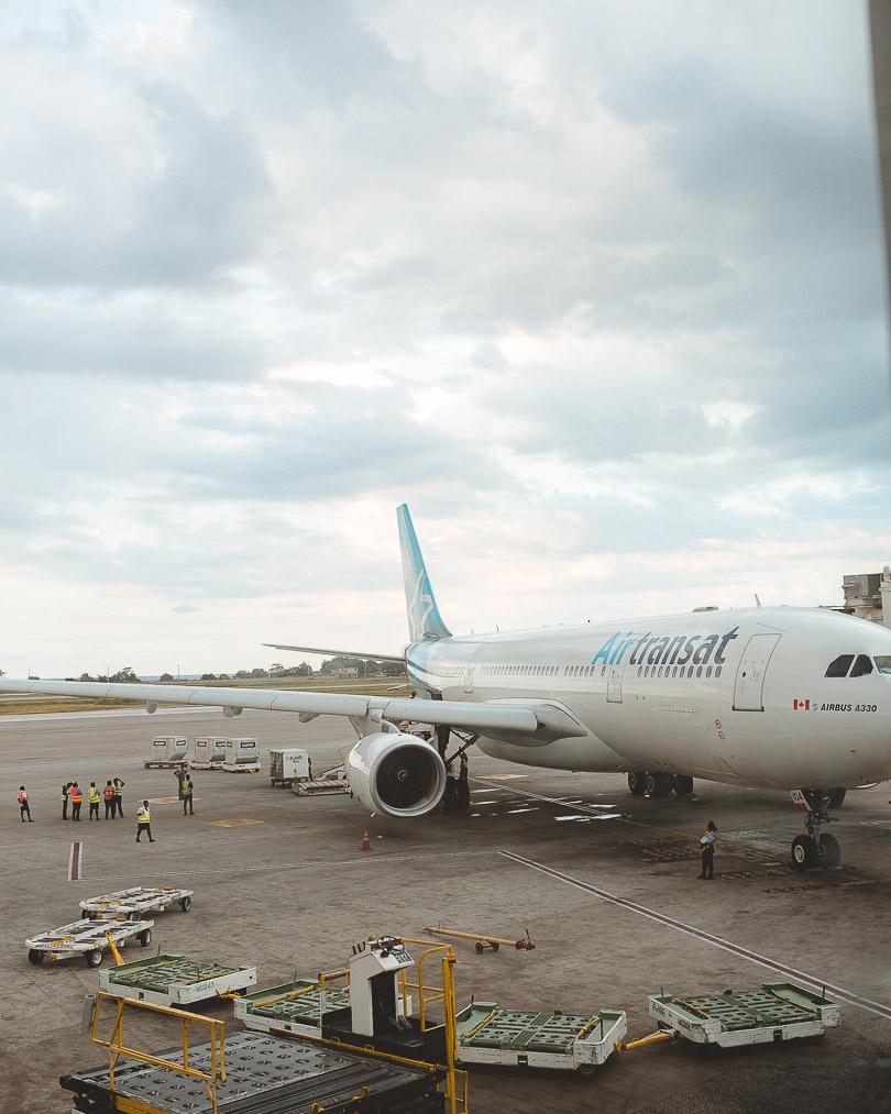 Air Transat plane