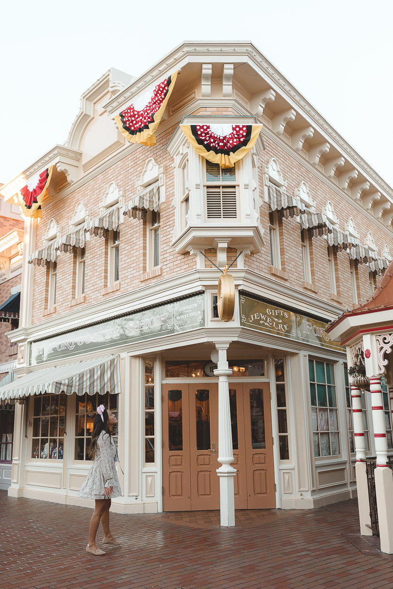 main street usa disneyland