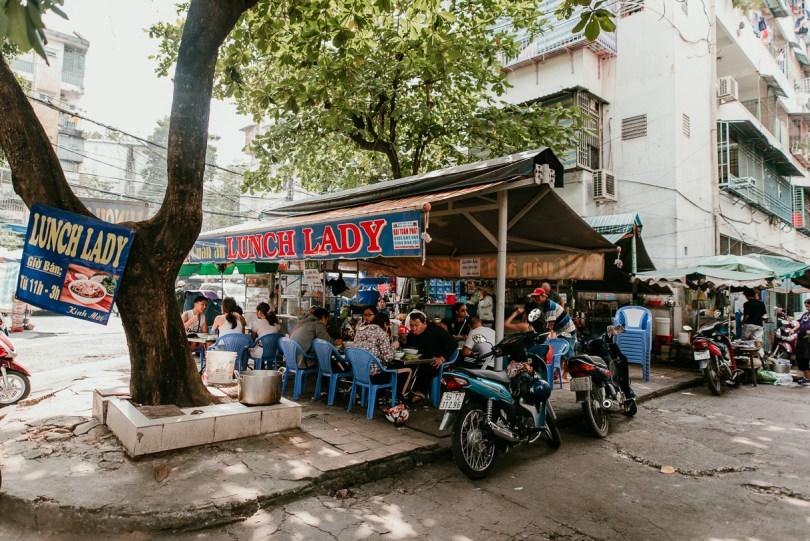 The Lunch Lady in Ho Chi Minh City