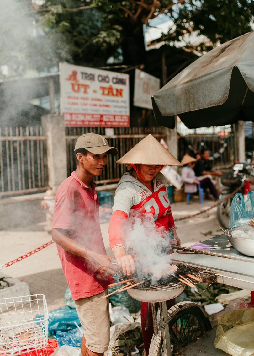 street food in the mekong delta