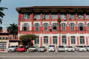 colonial buildings yangon