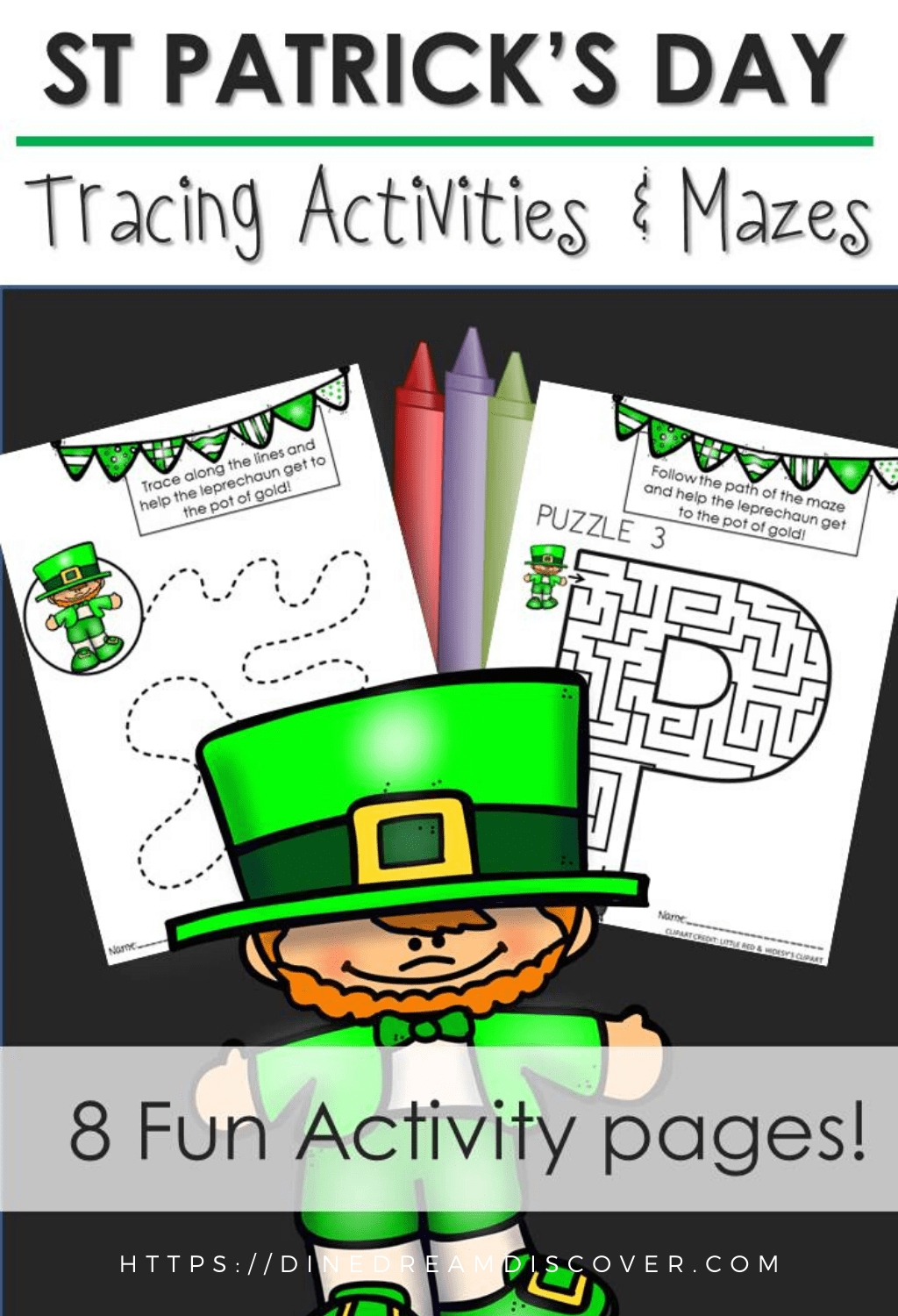 St Patricks Day Crafts And Activity Sheets
