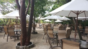 Maya Key dining area